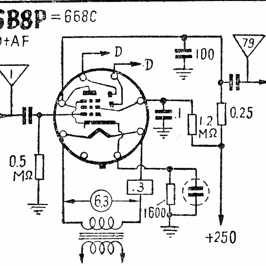 el84并联单端胆机.